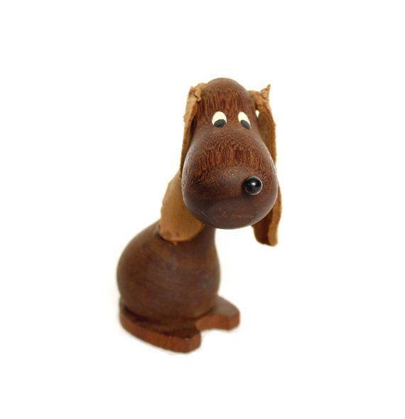 Hans Bolling Style Dog Figurine Danish by ModernisticVintage