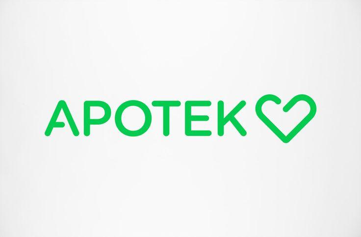Logo Design, Apotek Hjärtat, Brandmark Inspiration, Visual Identity, Brand Identity, Logo Inspiration, Identity Design, Logo 商標, Corporate Identitylogo
