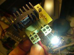 Driver para LEDS de alta potencia  http://www.inventable.eu