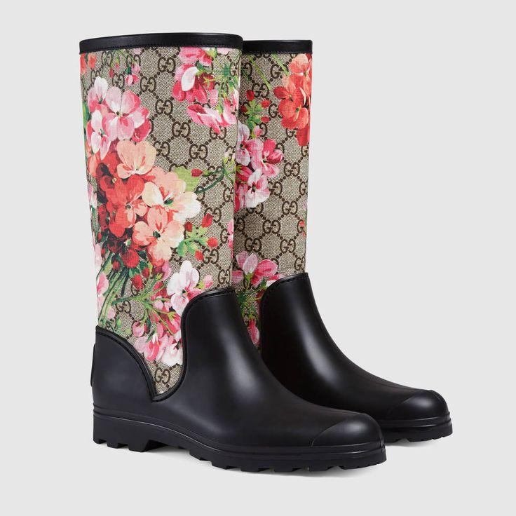 Stivale da pioggia GG Blooms