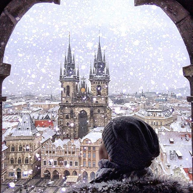 Prague, Czech Republic ....  This beautiful picture is by : @inn_praha  #prague #czech Republic.