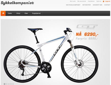 Sykkelkompaniet.no - Kjøp Sykler, Sykkelutstyr og Sykkelklær på Nett