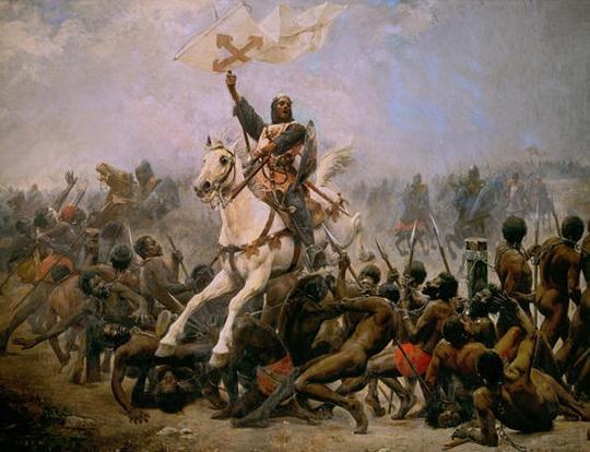 Sancho VII contra la guardia negra: La batalla de las Navas de Tolosa #ImagenHistorica #Historia