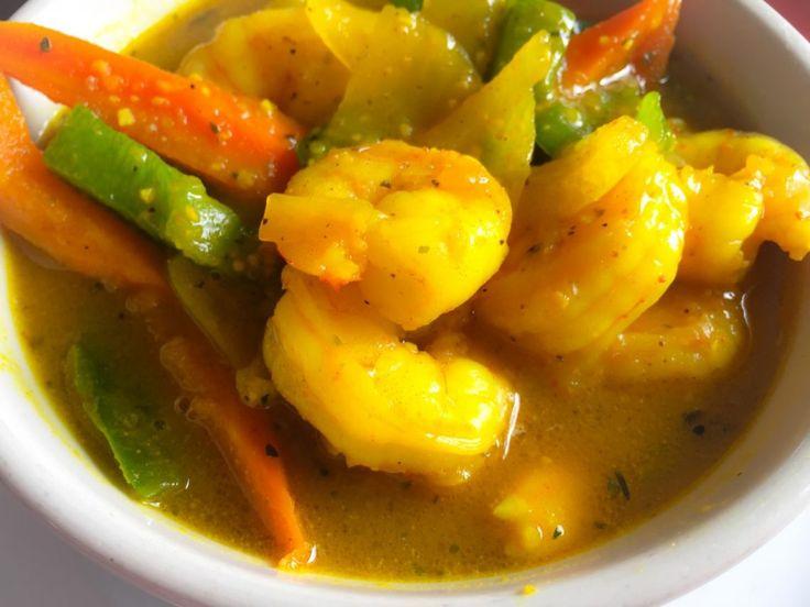 jamaican curried shrimp recipe  jamaican recipes