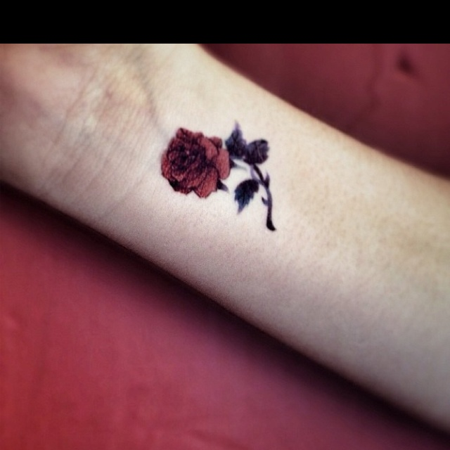 its all right with me if my daughter wants to get a tattoo because i know how badly she wants to get one when shes older