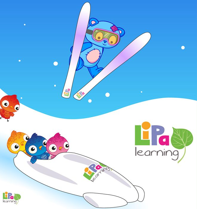 Winter is fun with Lipa! We have a nice winter coloring sheet for your little ones.