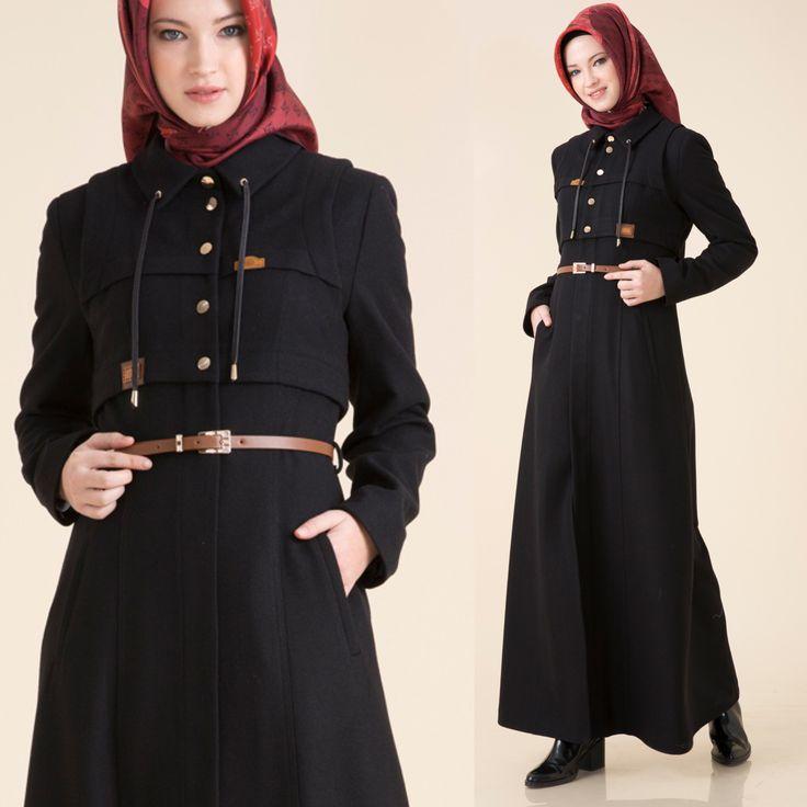 Koleksiyonumuzda pek çok #tamboy  #kaşe #manto bulabileceğini biliyor muydun? | Have you discovered our #wool #maxi #coats ? #Kayra #hijab #hijabstyle #tesettür #kaban