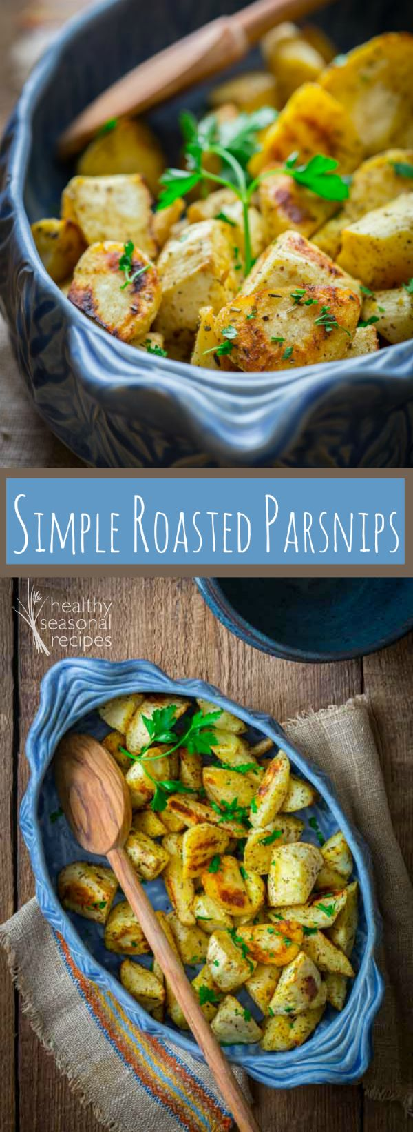 Blog post at Healthy Seasonal Recipes : I always thought of parsnips as being a fall vegetable. I was sort of right since that's when they stop growing. But I was also wrong too.[..]