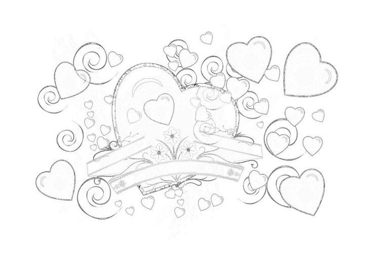 10 besten Malvorlagen Liebe Bilder auf Pinterest | Liebe ...