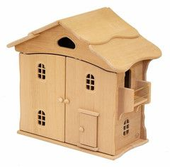 EarthToys collection of Classic Wooden Doll Houses – Earth Toys