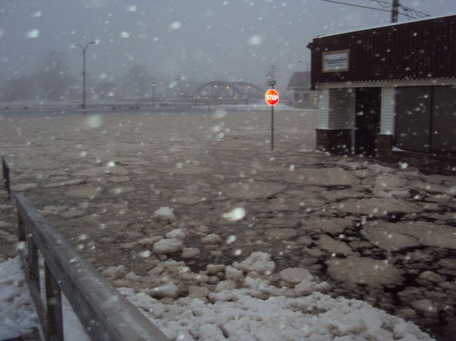 Blizzard/Flood of 2013---Liverpool, Nova Scotia