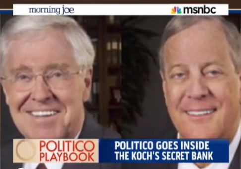 """Breaking: A Look Inside the Koch Brothers' Secret """"Dark Money"""" Bank / ''meaning a totally unknown group was the largest sugar daddy for conservative groups in the last election, second in total spending only to Karl Rove's American Crossroads and Crossroads GPS, which together spent about $300 million.''"""