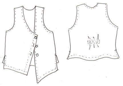 Hedda Vest http://www.loveyourpeaches.com
