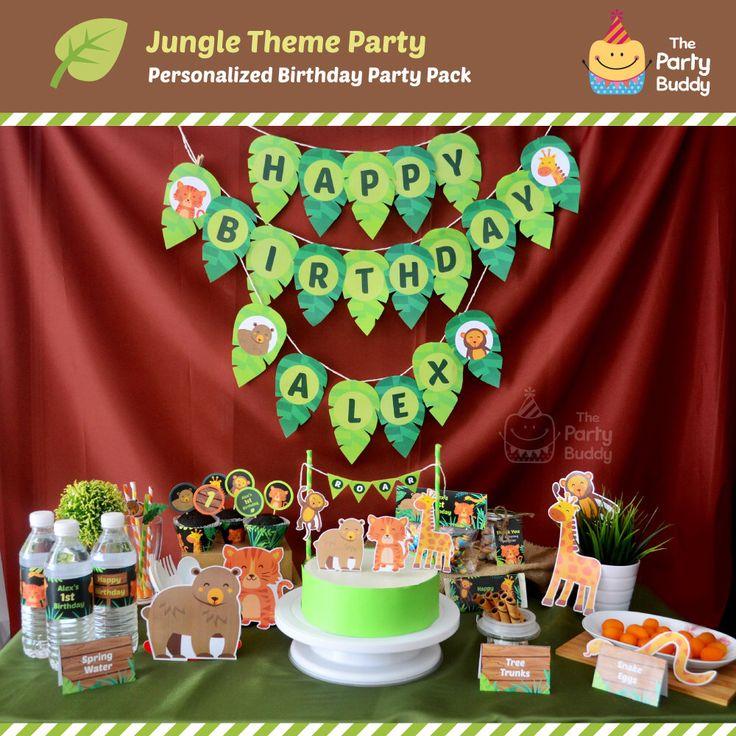 Best 25 DIY jungle birthday party ideas on Pinterest DIY jungle
