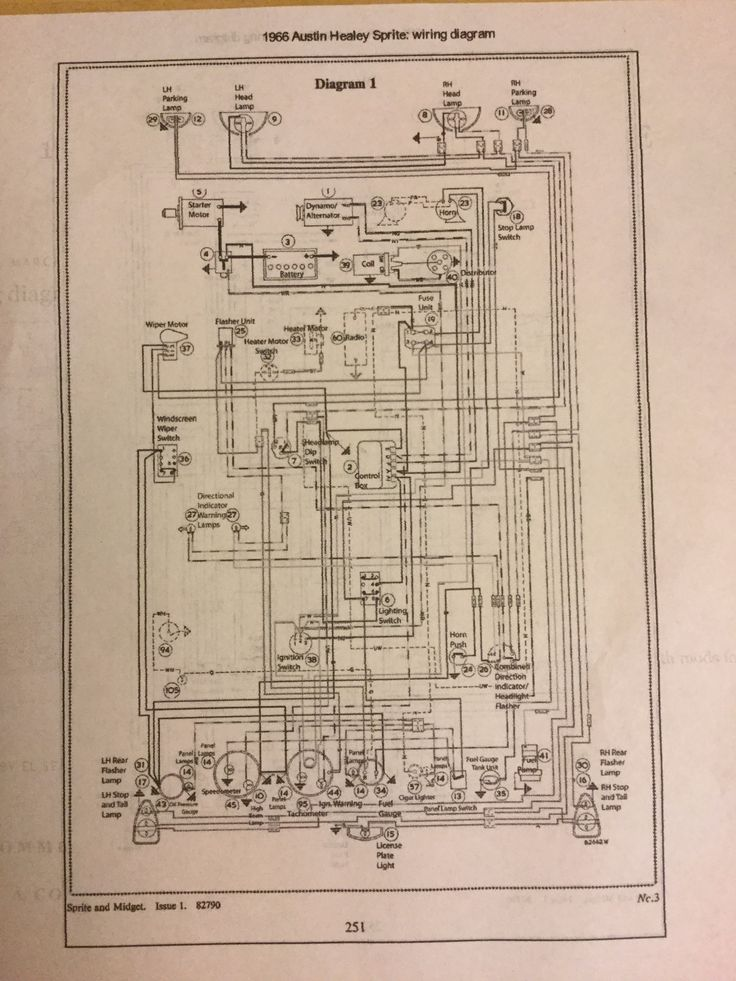 f874f47b556830e2f3d128c6af25af53 sprites austin 90 best austin healey images on pinterest austin healey, vintage austin healey 3000 wiring diagram at gsmx.co