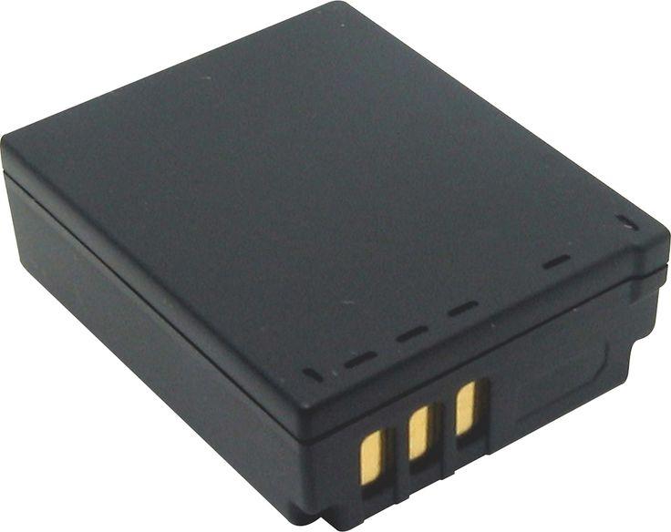 Lenmar - Lithium-Ion Battery for Select Panasonic Digital Cameras - Black