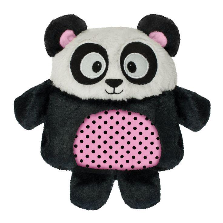 Aroma Home Peluche Bouillotte Micro Onde Snuggle Me Panda