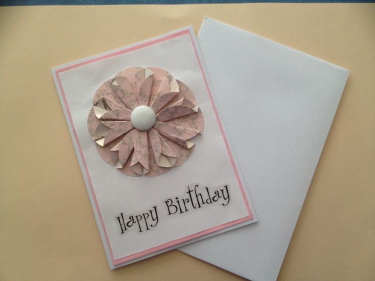 Simple & delicate themed card