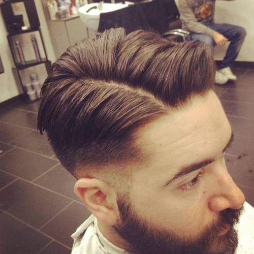Astonishing 1000 Images About Haircut Classic On Pinterest Barbers Barber Hairstyles For Men Maxibearus