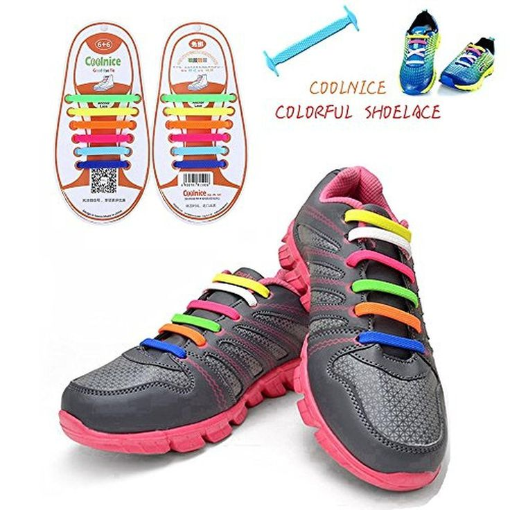 Joyshare 1 Set No Tie Lazy Silicone Rubber Elastic Shoelace,sneaker Shoe  Laces Running Shoelaces