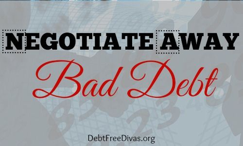 Negotiate Away Bad Debt on Credit Reports Featured Post on Turn it up Tuesdays