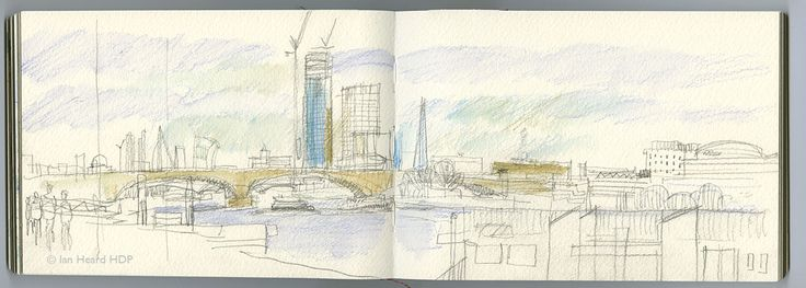 London Sketches: Vauxhall Bridge.