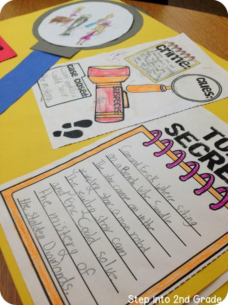 Mystery unit. Step into 2nd Grade with Mrs. Lemons