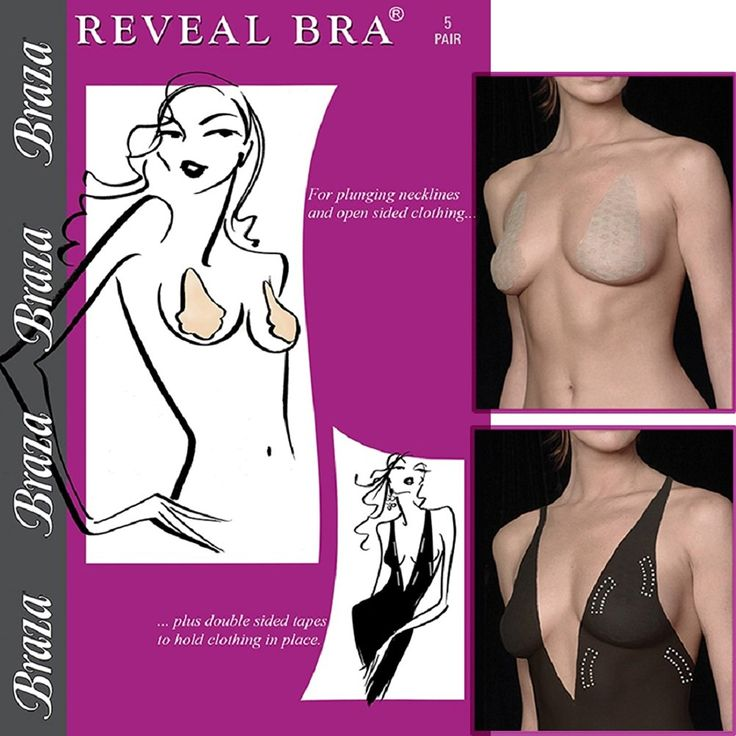 Braza Reveal Disposable Adhesive Bra-2 Pack