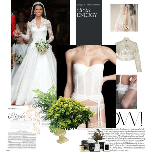 Have the Perfect Wedding Day, Dressed as a Princess by redboxlingerie on  Polyvore #bridal
