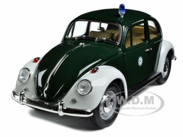 1967 VOLKSWAGEN BEETLE KAFER GERMANY POLICE CAR 1/18 MODEL GREENLIGHT 71101 #GreenLight #Volkswagen