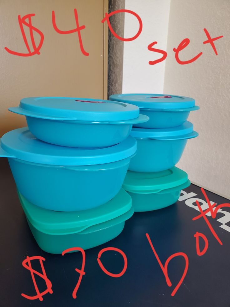 Crystalwave microwavable containers. Will deliver to the ...