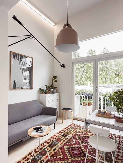 Designfriikki: Pieni mutta valoisa ja moderni asunto Vantaalta? SATO StudioKoti