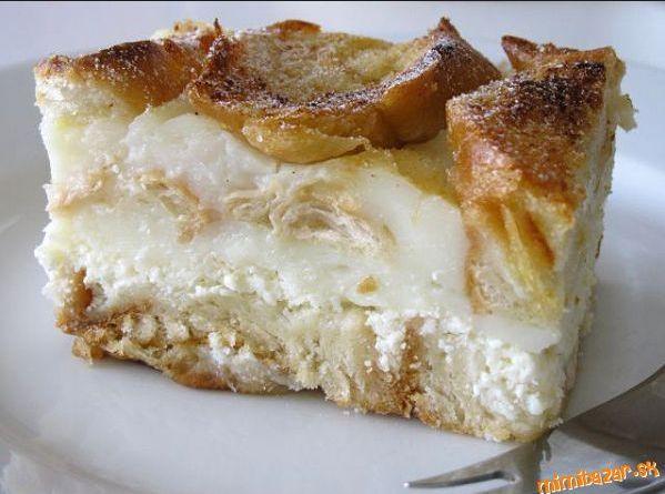 Žemľovka (bread pastry)-sweet dish