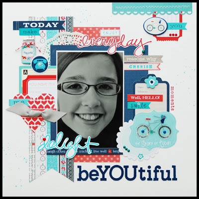 Remember the Good Times: BeYOUtiful using @Little Yellow Bicycle Incorporated Just Because by Lisa Swift