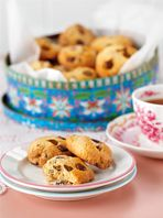 Choc Chip and Coconut Cookies