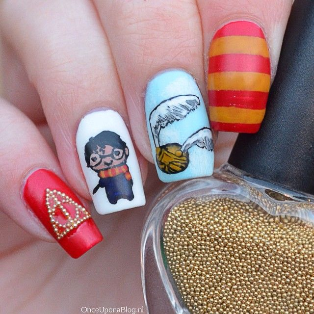 Nail Art Harry Potter | Santé & Fitness