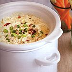 Slow Cooker Sun-Dried Tomato and Artichoke Dip ~ This is a perennial ...