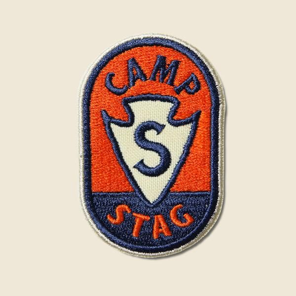 "- Limited Edition Camp STAG patch - Designed in Austin, TX by Erick Montes - Dimensions: 1.5"" x 2.5"""