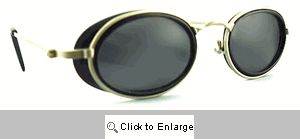 Nifty 80s Sport Sunglasses - 228 Black