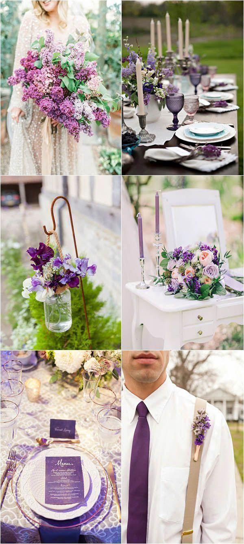 Purple Themed Wedding Lavenderweddingdresses Lavender Wedding