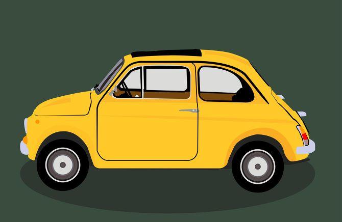 FIAT 500 - Josh Ross Illustration