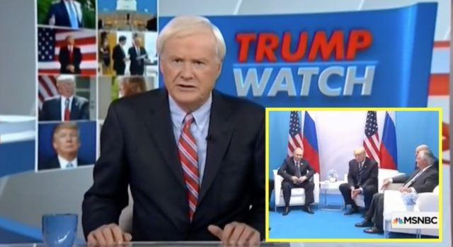 "FOX News MOCKS MSNBC's Chris Matthews Who Actually Said ""Big Story"" of G20 Was How Far President Trump and Putin Spread Their Legs [VIDEO]"