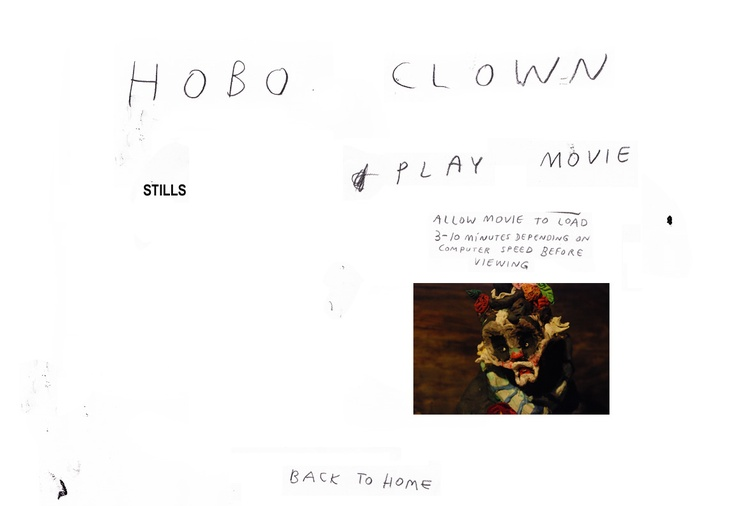This beautiful claymation of a hobo clown is worth the (download) wait. Alison Shulnik (the artist responsible) also does thick, yummy, impasto paintings that are somewhat melancholic & beautiful at the same time. :-)