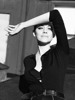 Marion Cotillard photographed for Terry Tsiolis