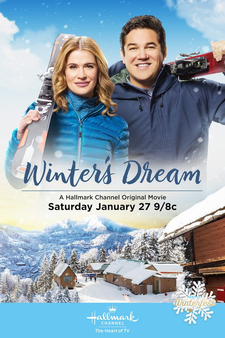 Winter's Dream - Kristy Swanson and Dean Cain prepare for Winterfest and take to the slopes on January 27 9/8c!   #Winterfest #HallmarkChannel #WintersDream