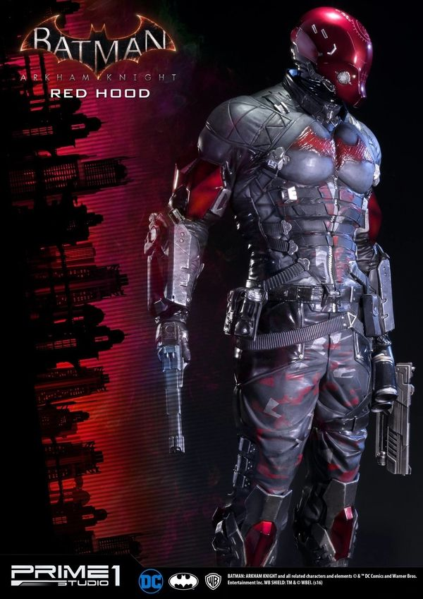 Batman: Arkham Knight Red Hood Statue