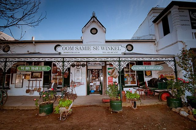 Stellenbosch-Oom Samie se Winkel. Toeristische attractie, meest bekende winkel van Zuid-Afrika?