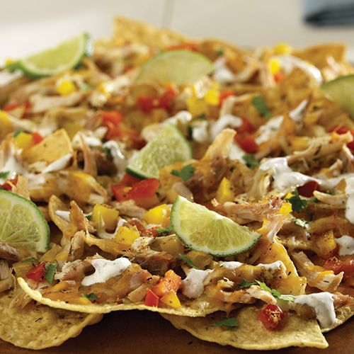 Jerk Chicken Nachos - The Pampered Chef® December Hosts are the first to get, the rest can purchase beginning January 2015 www.pamperedchef.biz/luannscuisine