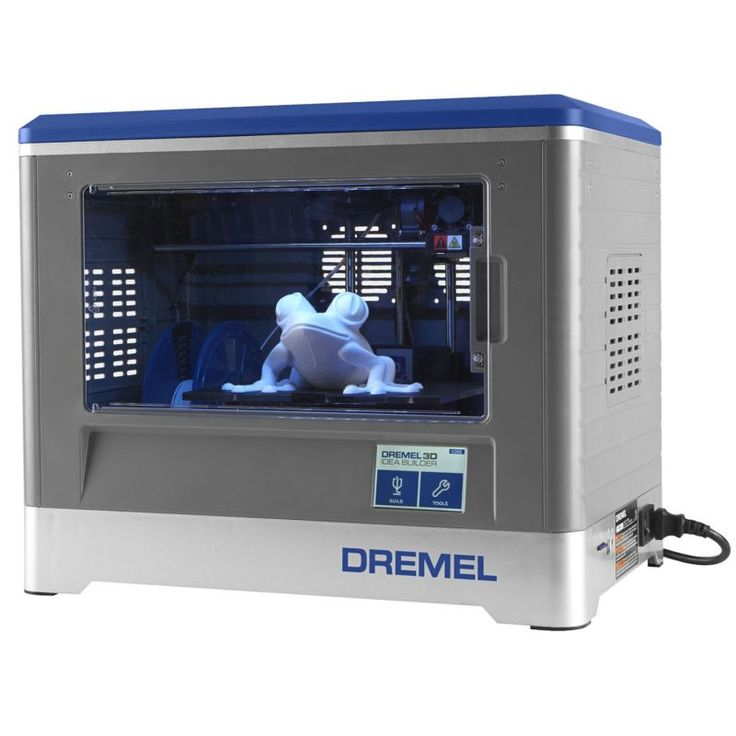 Dremel 3D20-01 9-Inch x 5.9-Inch x 5.5-Inch Idea Builder Enclosed 3D Printer - Authorized Dremel Dealer + Full Factory Warranty!!! #inch #printer #enclosed #idea #dremel #builder