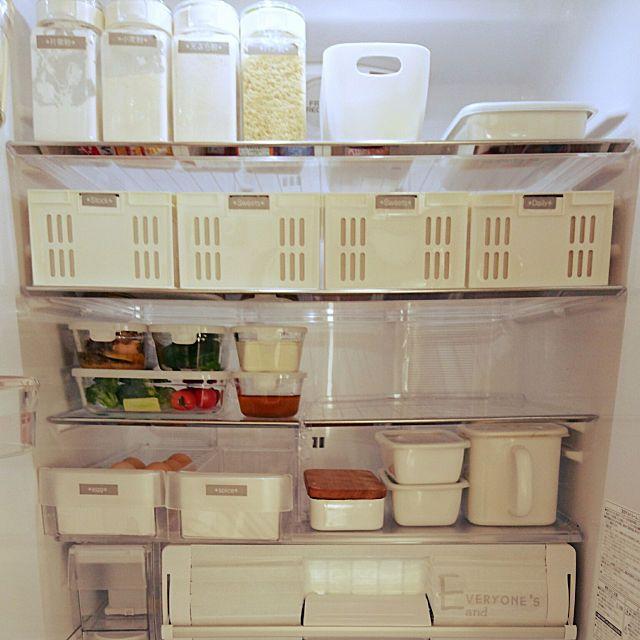 キッチン 冷蔵庫の中 キャンドゥ 無印良品 ダイソー などの